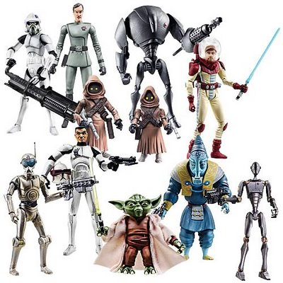 All Star Wars The Clone Wars Toys 57