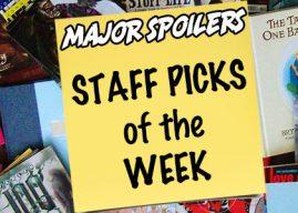 Major Spoilers Staff Picks for January 22, 2020  #NCBD