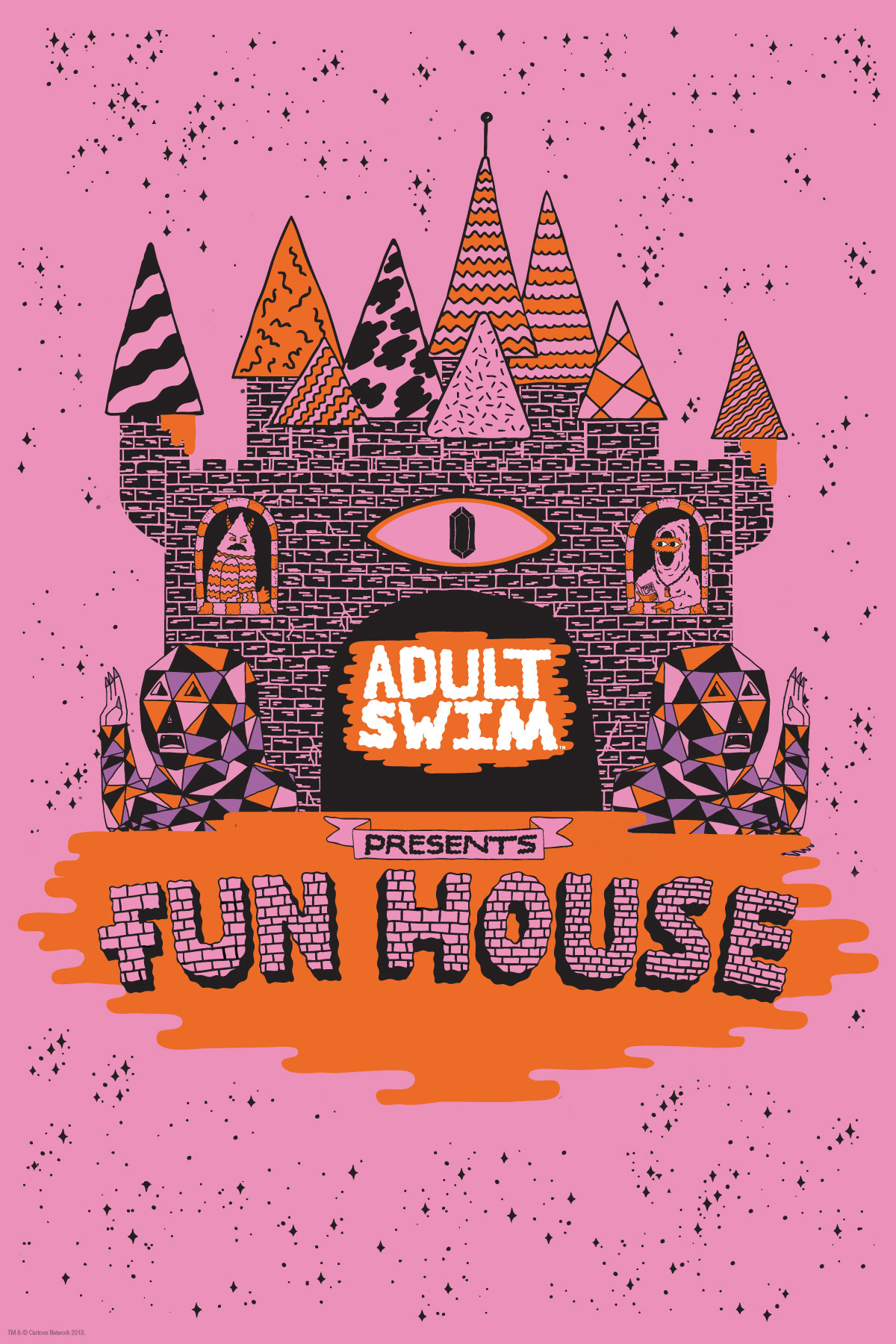 Sdcc 13 Adult Swim Announces Adult Swim Funhouse Major