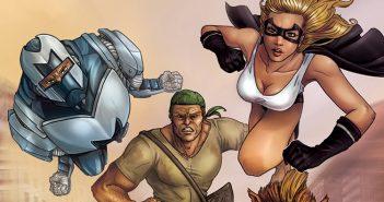 Wayne's Comics, Wayne Hall, Almighties, Sam Johnson, Geek-Girl, Cabra Cini, December, Marvel, DC, Origins II,