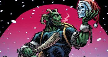 Wayne Hall, Wayne's Comics, Brian Joines, Image Comics, Imagine Agents, Krampus!, Santa Claus, Christmas