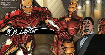 Wayne Hall, Wayne's Comics, Bob Layton, Iron Man, Valiant Comics, Stan Lee, Tony Stark, Marvel , Hollywood, Robert Downey Jr.,