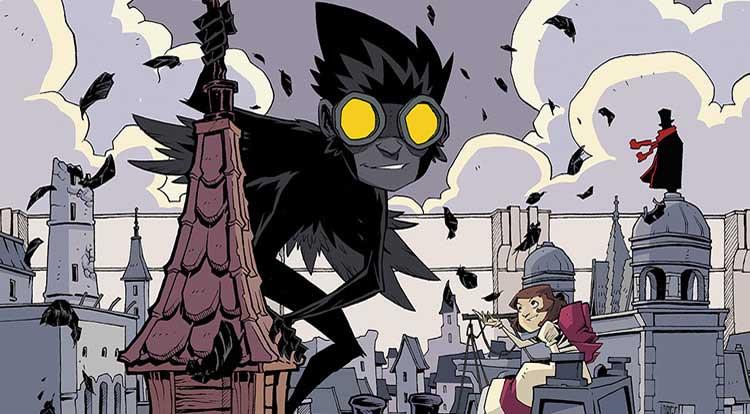 Wayne's Comics, Wayne Hall, Feathers, Jorge Corona, BOOM! Studios, miniseries, Poe, Jen Hickman, Bianca Chappell