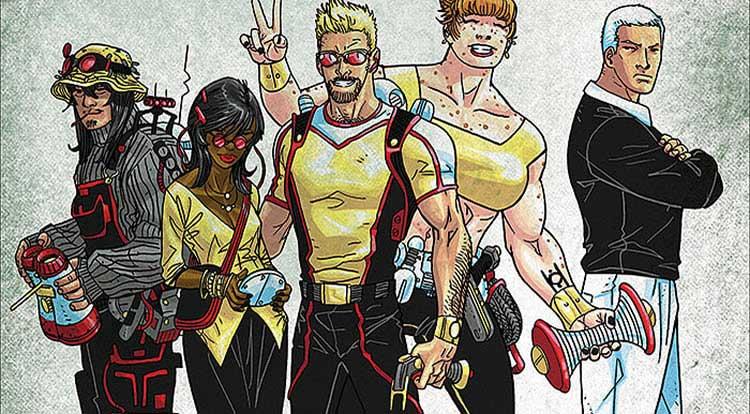 Wayne's Comics, Wayne Hall, Matt Kindt, MindMGMT, Dark Horse Comics, The Flash, PastAways, time travel, Scott Kolins,