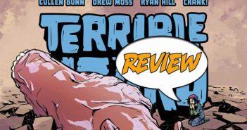 Terrible Lizard, Cullen Bunn, Drew Moss, Wrex, Jess, Oni Press, monster, dinosaur, T-Rex,