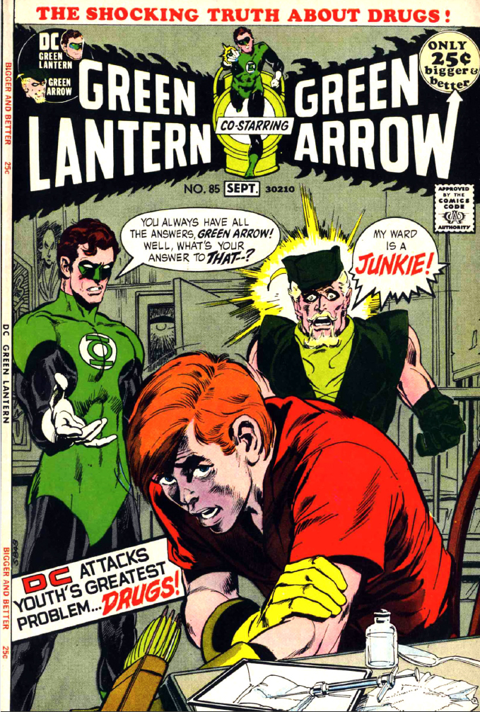 Image result for Green Lantern #85 (July 1971)