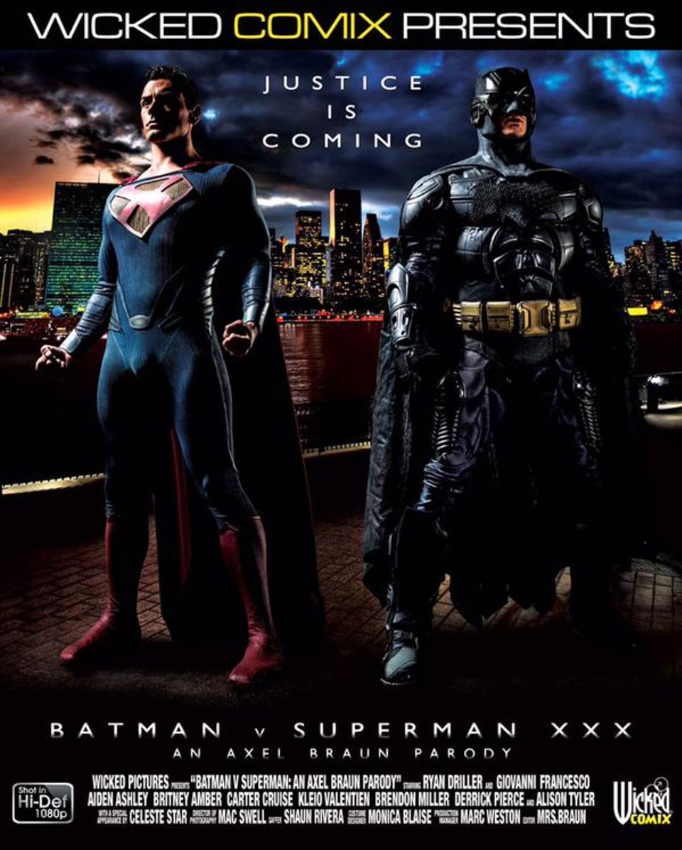 New Porn Parody adult films] are you ready for batman v superman xxx: an