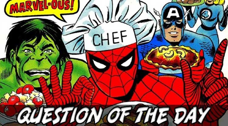 Fictional Chef QOTD