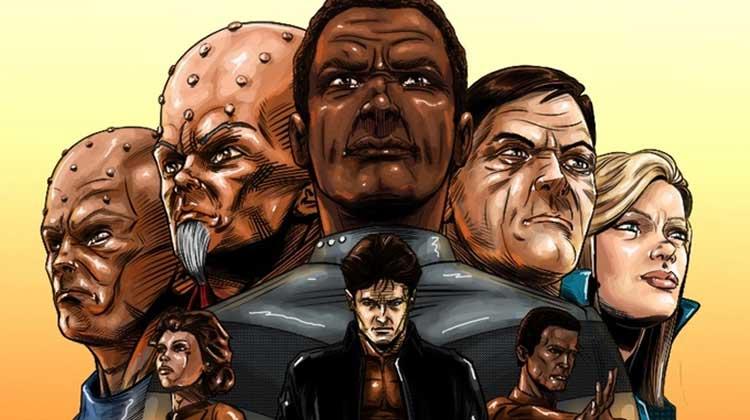 Wayne Hall, Wayne's Comics, Future Earth Entertainment, Earth Alliance, Star Trek, Khutarri, Elirium, Thomas Ryan, Admiral Benjamin Ryan, Ambassador Zatar, General Brom, science fiction,Deep Space Nine