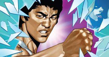 Wayne Hall, Wayne's Comics, Bruce Lee, Dragon Rises, Jeff Kline, Darby Pop, Shannon Lee,