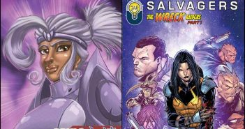 Wayne Hall, Wayne's Comics, Resistance Entertainment, Hashtag Comics, Souls Eternal, Bosdan Neswiacheny, Rob Torres, Bob Salley, Salvagers, Star Wars