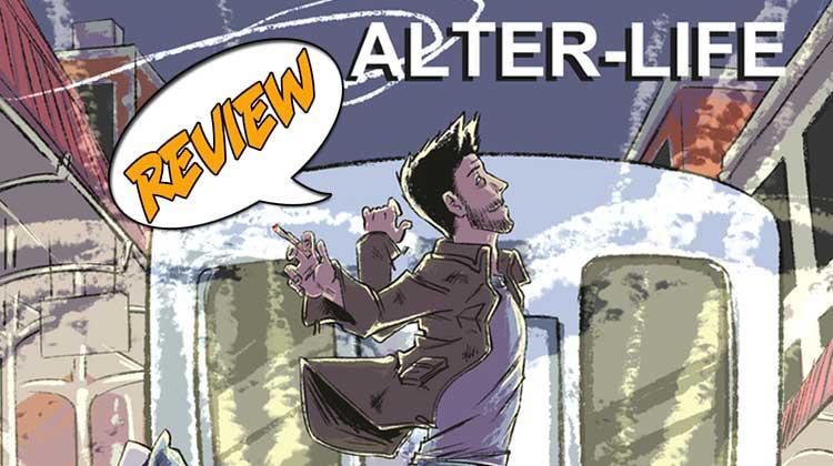 Alter-Life, Jake, Caleb Thusat, Katrina Kuntsmann, Kickstarter, Wizard World Chicago, Zed, Indie, comic, self-publish