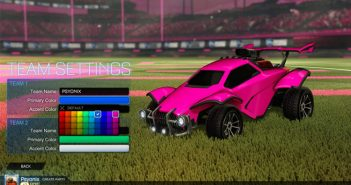 Rocket League Custom Name and Color