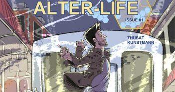 Wayne Hall, Wayne's Comics, Caleb Thusat, Alter-Life, ZED, Jake, Katrina Kuntsmann, Kickstarter, Wizard World Chicago, Indie, comic, self-publish