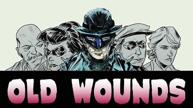 Wayne Hall, Wayne's Comics, Old Wounds, Stranger, Russell Lissau, Calypso, Chicago, Pop! Goes the Icon, Omega Comics, John Bivens, Dirk Tiede, Michael Lane, Batman, superhero,
