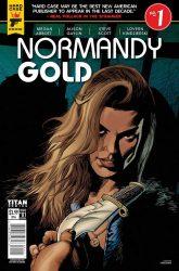 Normandy Gold from Titan Comics
