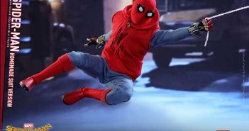 Spider-Man Homecoming Homemade Suit Sixth Scale Fiture