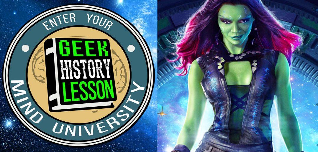 Gamora Guardians of the Galaxy