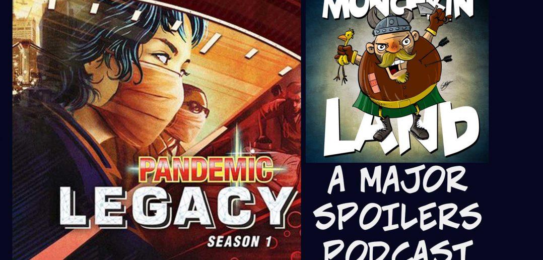 Munchkin Land Pandemic Legacy April