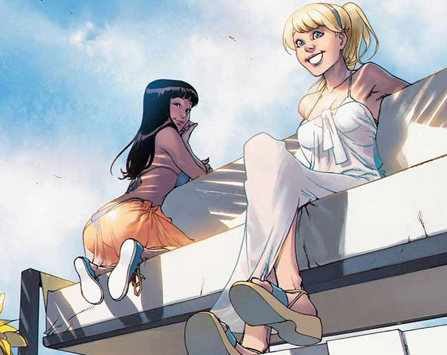 Betty and Veronica #3 by Adam Hughes