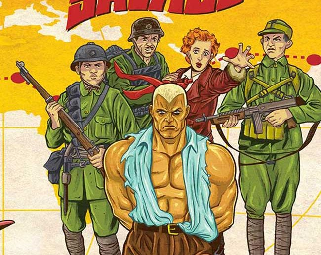 Doc Savage Ring of Fire #3
