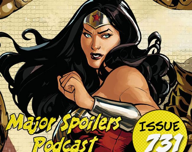 Major Spoilers Podcast Wonder Woman The Circle DC Comics