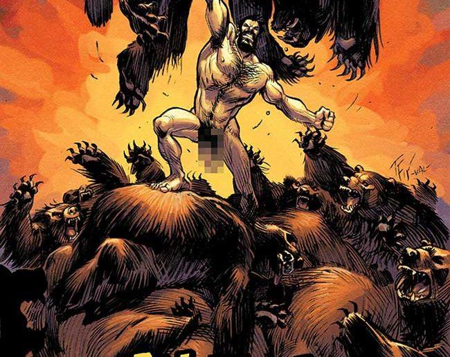 Shirtless Bear-Fighter #1