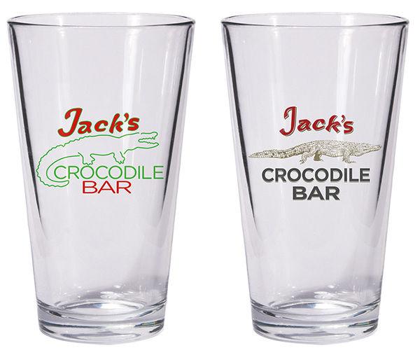 Jacks Crocodile Bar America Gods Shot Glasses Dark Horse Comics