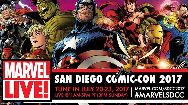 Marvel at San Diego Comic Con