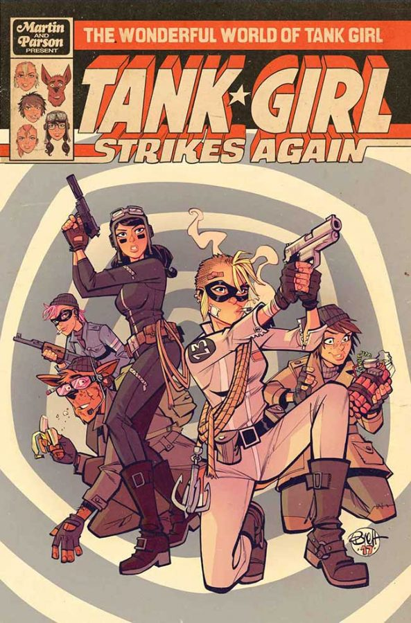 Wonderful World of Tank Girl