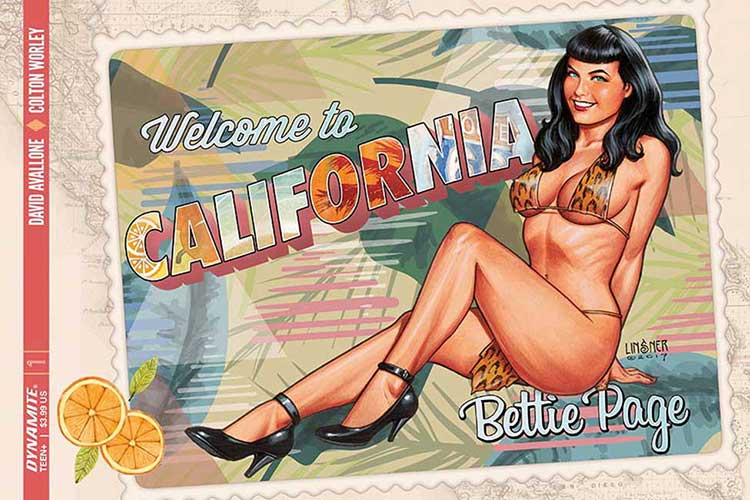 Bettie Page #1