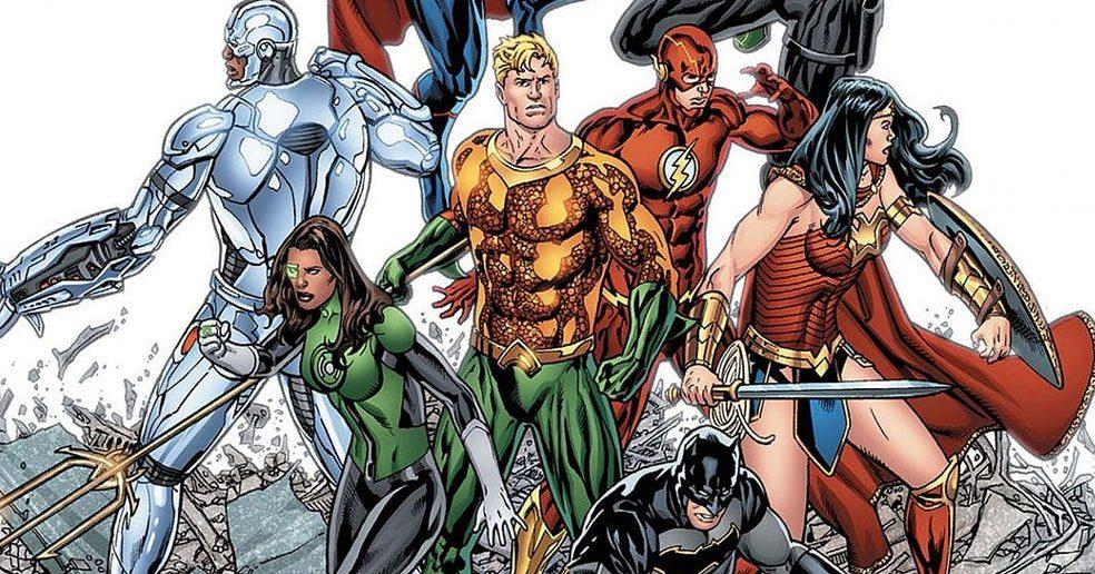 DC Rebirth Justice League Secrets Panel