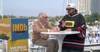 Stan Lee and Kevin Smith