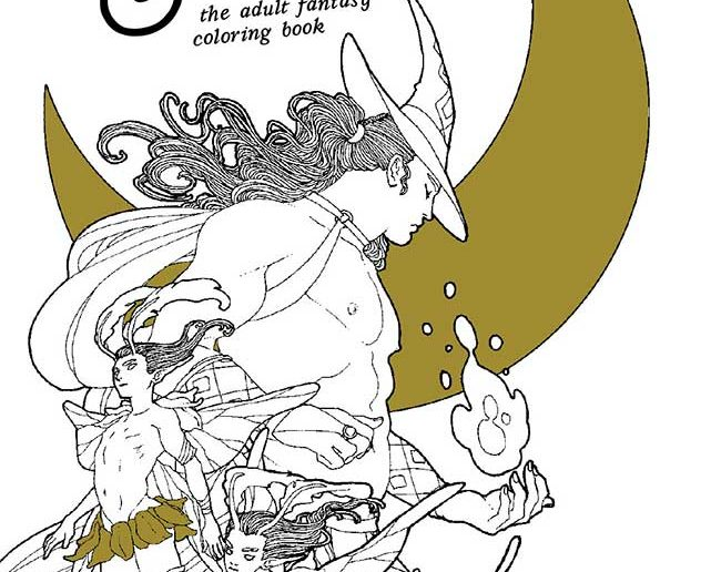 Fauns & Fairies: The Adult Fantasy Coloring Book
