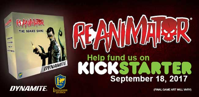 Reanimator Kickstarter Board Game
