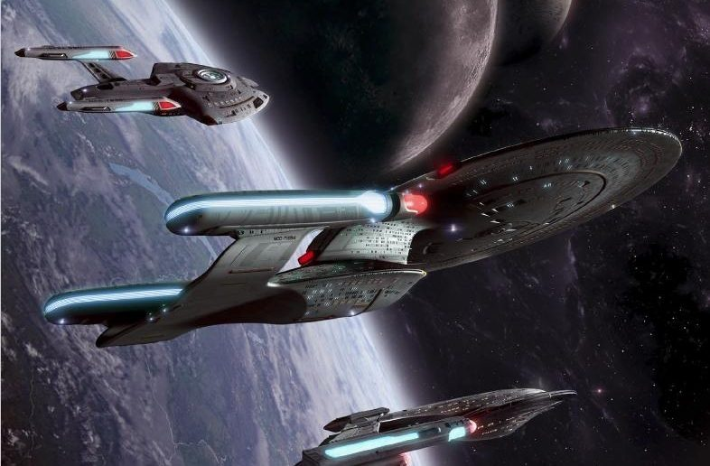 These are the Voyages: Volume 1 Star Trek Adventures