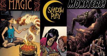 Wayne Hall, Wayne's Comics, all-ages, Shadow Play, Bard, Joy, Kickstarter, Stabbity Bunny, Gateway City, Shadow Realm,