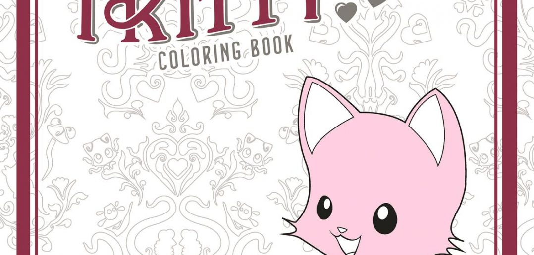 Tentacle Kitty Coloring Book from Dark Horse Comics