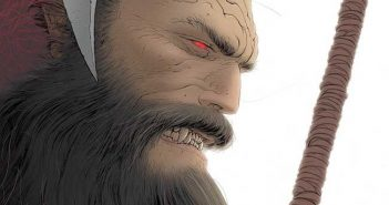 Frank Quitely Variant Cover Klaus and the Crisis in Xmasville