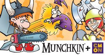 Steve Jackson Games and CMON team for Munchkin Board Games