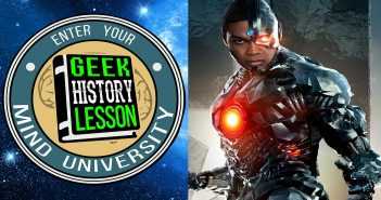 Geek History Lesson Cyborg DC Comics Teen Titans Justice League