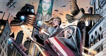 Wayne Hall, Wayne's Comics, Myopia, Richard Dent, Dynamite, steampunk, sci-fi, falcon,