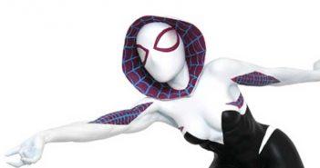 Marvel Premier Collection Spider-Gwen Masked Resin Statue