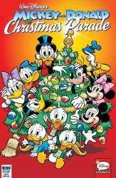 Mickey and Donald Christmas Parade #3