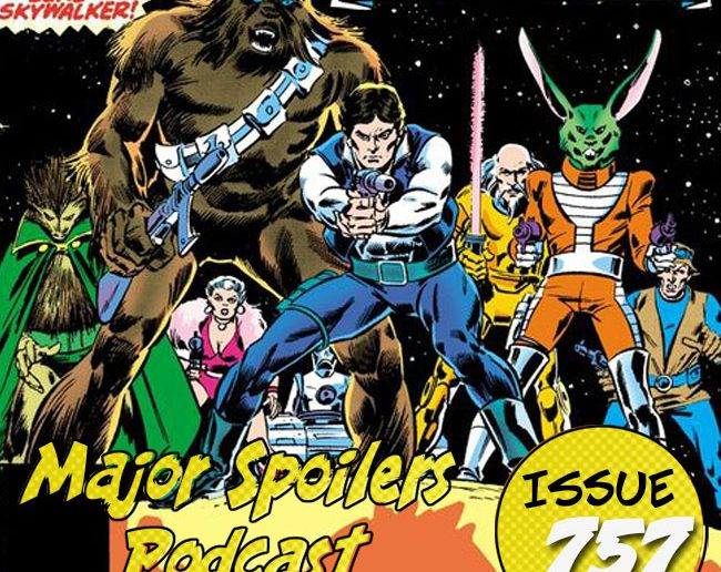 Major Spoilers Podcast #757 Eight for Aduba-3 Star Wars Comic Book Podcast
