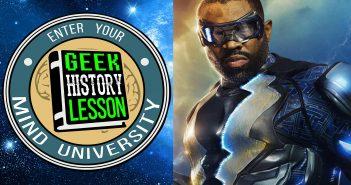 Black Lightning Geek History Lesson Jefferson Pierce
