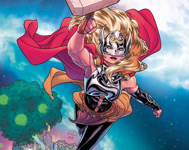 Mighty Thor Variant Covers