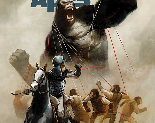 Kong on the Planet of the Apes #3
