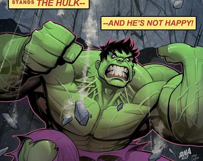 Hulk Variant Covers