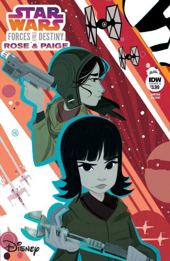 The much-anticipated issue of Star Wars Adventures: Forces of Destiny is here! Take the jump for your first look at Star Wars Adventures: Forces of Destiny—Rose & Paige.